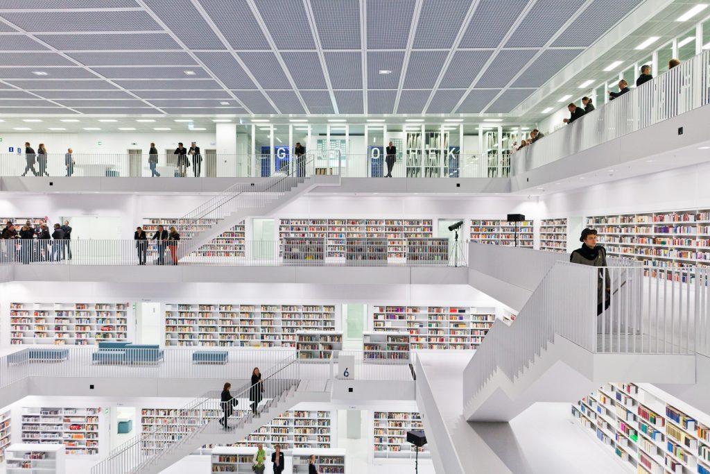 Le biblioteche più incredibili in giro per il mondo | Stoccarda