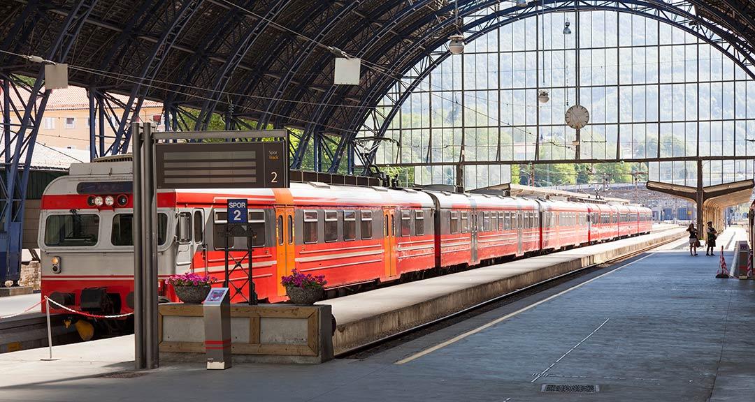 La linea che collega Oslo e Bergen