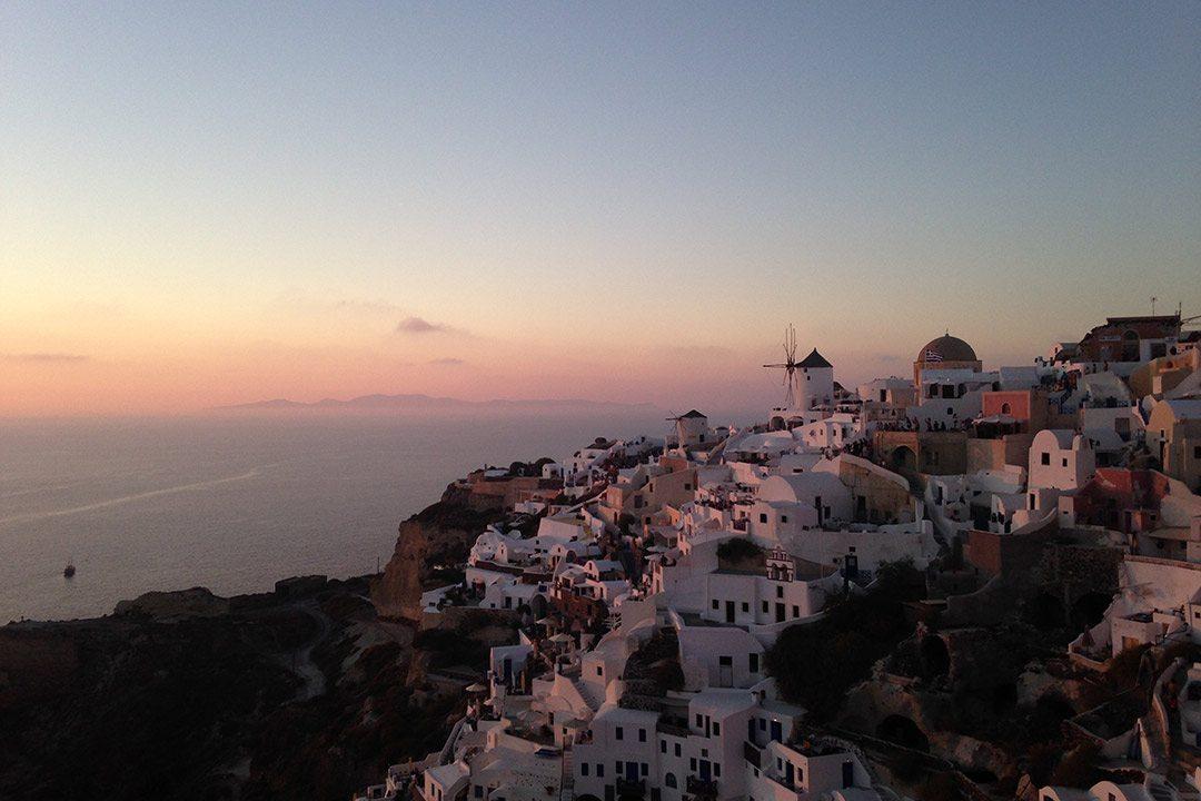 La celebre isola del Mar Egeo