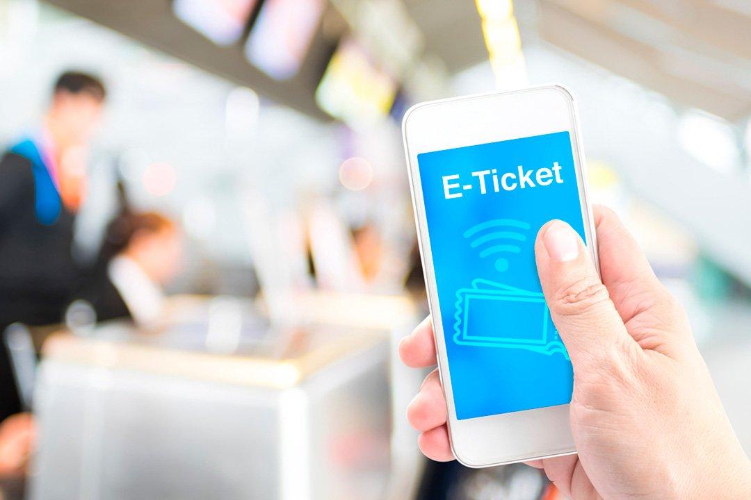 biglietto elettronico